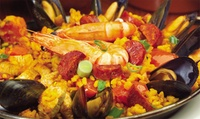 Paella or Tapas with Olives, Bread Basket and Sangria for Two at El Rocio Bar & Restaurant (Up to 44% Off)