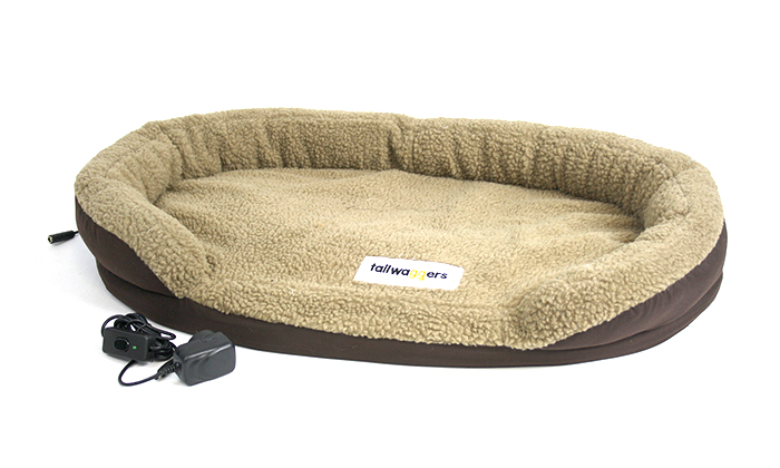 beds pets kh bed kennel outdoor dog h lectro pads heated cozywinters winter