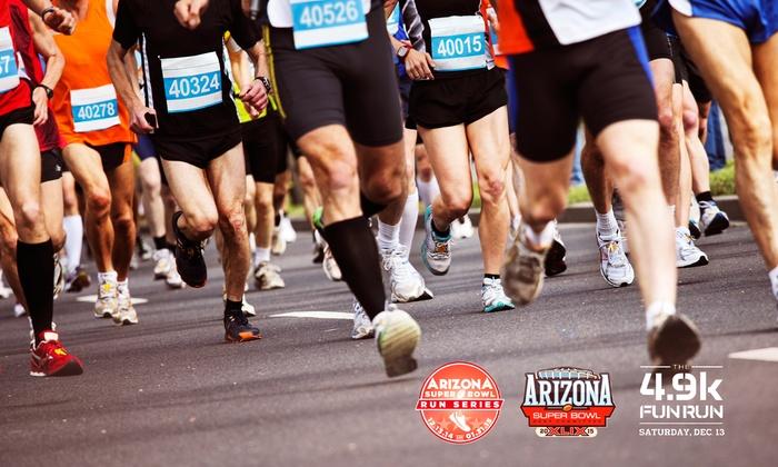 Arizona Super Bowl Host Committee 4.9K Fun Run - Rawhide: $29 for Entry in the Arizona Super Bowl Host Committee 4.9K Fun Run for One on December 13 ($55 Value)