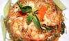 Jaded Thai - Charlemagne: Thai Cuisine for Dine-In or Takeout at Jaded Thai (Up to 47% Off)