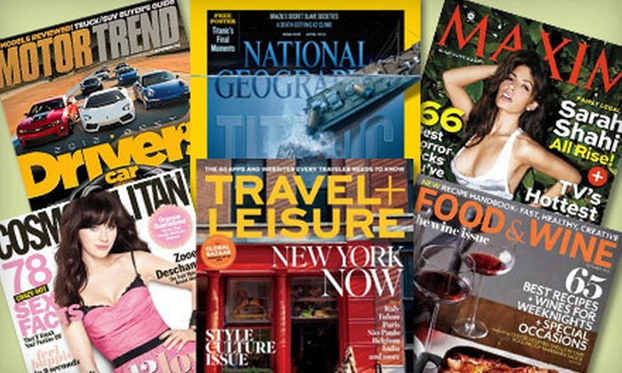 Blue Dolphin Magazines: $12 for $25 Worth of Magazine Subscriptions from Blue Dolphin Magazines