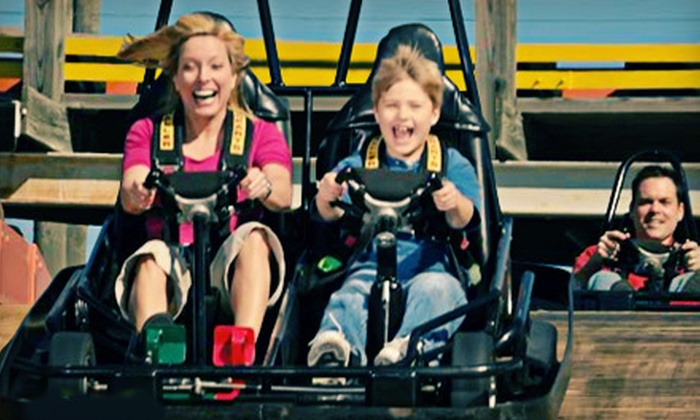 The Track Family Recreation Center - The Track: $86.25 for Go-Karting, Mini-Golf, and Bungee Jumping at The Track Family Recreation Center (Up to $135 Value)