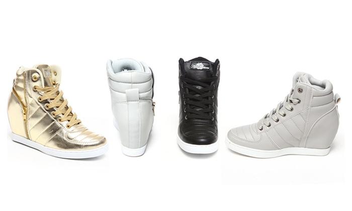 Apple bottom sneakers
