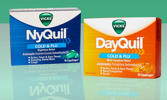 vicks dayquil or nyquil groupon goods