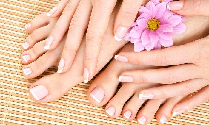 Royalti' Nails and Spa - Hadley Park: One or Three Mani-Pedis, or a Sports Pedicure and Nail Grooming at Royalti' Nails and Spa (Up to 55% Off)