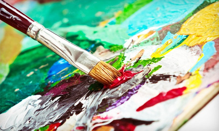 Roey's Paintbox Parties - Central Bethlehem Historic District: BYOB Painting Parties for Two, Four, or Six at Roey's Paintbox Parties (Up to 63% Off)
