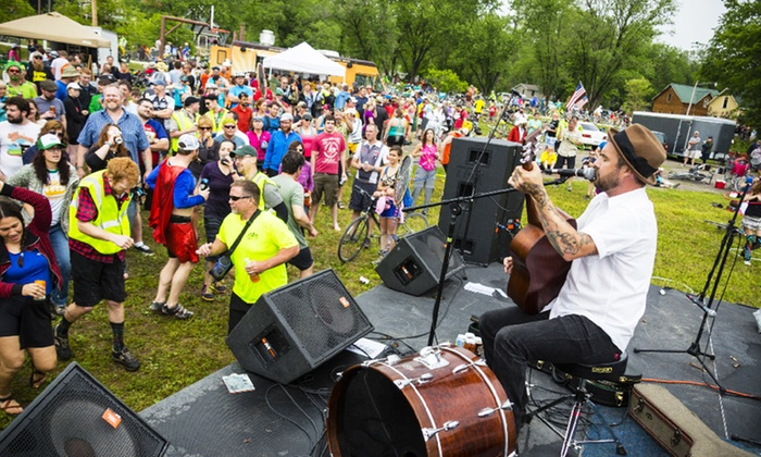 Big BAM - Des Moines: $89 for All-Access Riding Pass for Five-Day Bike Tour and Music Fest from Big BAM ($189 Value)