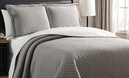 3-Piece Quilted Coverlet Set. Multiple Options Available from $39.99–$49.99. Free Returns.