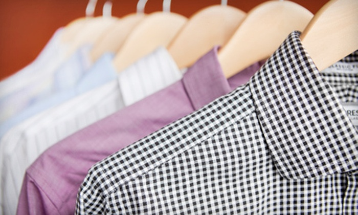 Aladdin Village Cleaners Inc. - Depew: $15 for $30 Worth of Dry Cleaning at Aladdin Village Cleaners Inc.