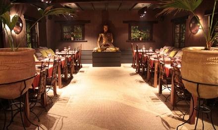 Menu gastronomique thaï en 4 services pour 2 ou 4 personnes dès 59 € au restaurant Dar El Siam