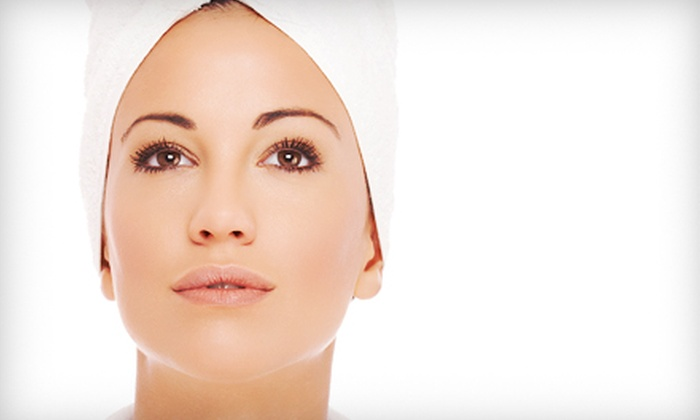 Advanced Healthcare Center - Wheaton: One or Three Microcurrent Face-Lifts at Advanced Healthcare Center (Up to 66% Off)