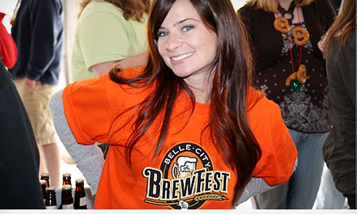 Belle City Brewfest - Festival Hall Racine Civic Centre : $20 for One Admission to Belle City Brewfest at Racine Civic Centre on Saturday, May 11 at 2 p.m. (Up to $47.70 Value)