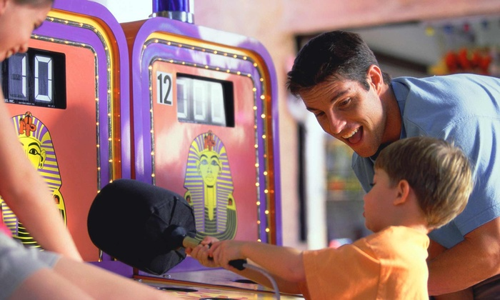 Coral Cove Family Fun Center - South Beloit: All-Day Access Package for Up to 8 or Party Package for Up to 15 at Coral Cove Family Fun Center (Up to 52% Off)