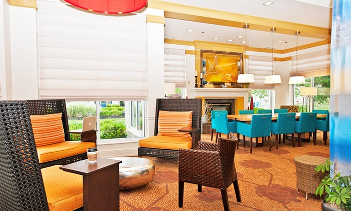 null - Cincinnati: Stay with All-You-Can-Eat Breakfast at Hilton Garden Inn Louisville East in Louisville, KY