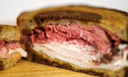 Deli Food at Hygrade Deli (35% Off). Two Options Available.