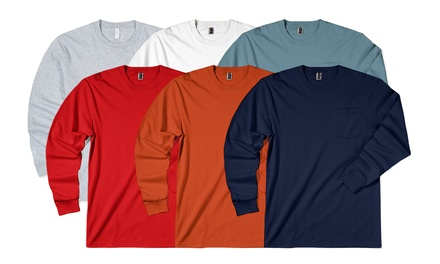 3-Pack of Zorrel Men's Long Sleeve Tees