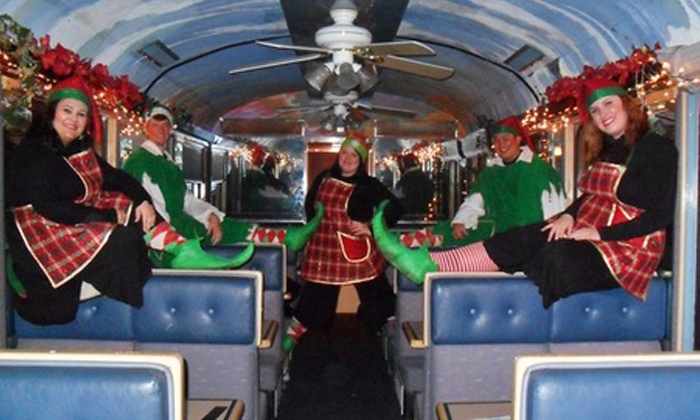 Sacramento RiverTrain - Woodland: Christmas Train Ride for One from Sacramento RiverTrain (40% Off). 11 Options Available.