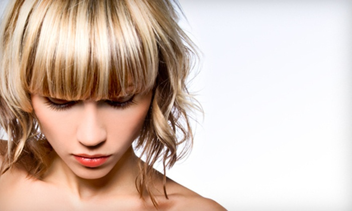 Salon Tiare International Hair Design - Laguna Beach: Cut with Conditioning Treatment and Partial or Full Highlights at Salon Tiare International Hair Design (Up to 77% Off)