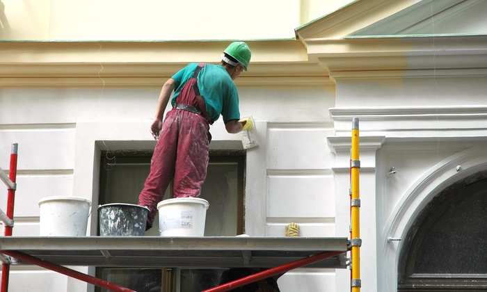Dallas Curb Painting - Dallas: $110 for $200 Groupon — dallas curb painting
