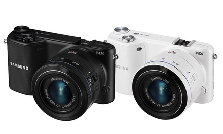 Samsung NX2000 20.3MP WiFi-Ready Interchangeable Lens Digital Camera with 20-50mm Lens and 3.7