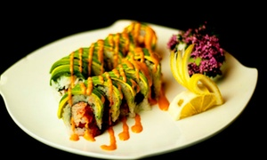 Sushi Omakase: Sake Flight and Sushi for Two or Four at Sushi Omakase (Up to 56% Off)