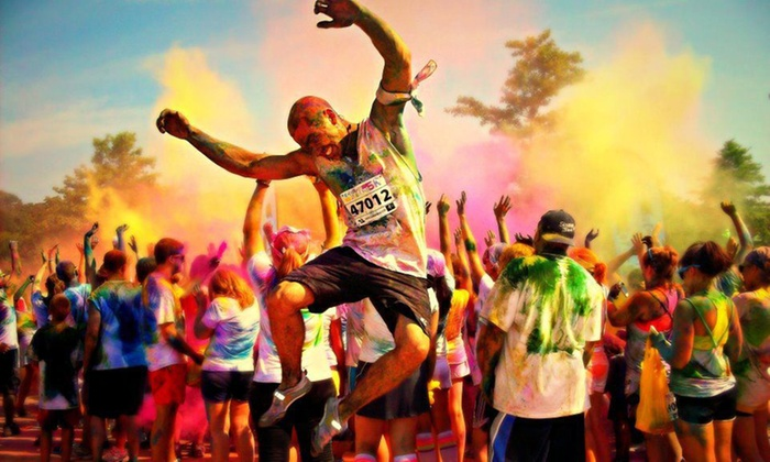 Color Me Rad - Multiple Locations: $29 for Color Me Rad 5K Entry on April 19 in Virginia Beach or April 26 in Newport News ($55 Value)