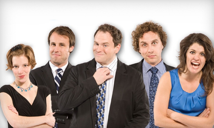 The Second City: Laughing Matters - Genesee Theatre: $25 to See The Second City: Laughing Matters at Genesee Theatre on Friday, April 19 at 7:30 p.m. (Up to $46.50 Value)