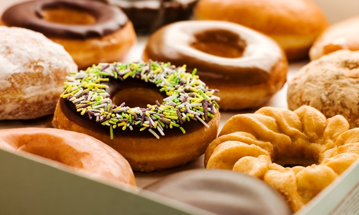 Simply Splendid Donuts & Kolaches - Crossing At Fry Road: Two Dozen Donuts, or Two Groupons, Each Good for One Dozen Donuts at Simply Splendid Donuts & Kolaches (46% Off)