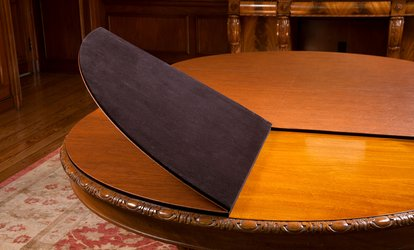 image for $199 for a Custom <strong>Dining</strong> Table Protection Pad from Berger's Table Pad Factory ($399 Value)