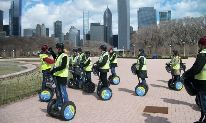 Segway Experience of Chicago - The Loop: $37 for a Two-Hour Park Glide or Holiday Lights Tour for One from Segway Experience of Chicago ($65 Value)