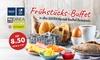 Frühstücksbuffet für 8,50 €