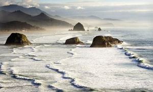 2-night Stay With Romance Package At Blue Gull Inn Or Inn At Haystack Rock In Cannon Beach, Or