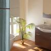 3-Piece Jacquard Shower Curtain Set