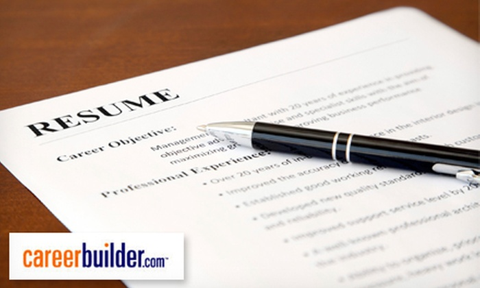 CareerBuilder: Entry, Professional, or Executive Resume with Resume Upgrade CareerBuilder.com (Up to 69% Off)