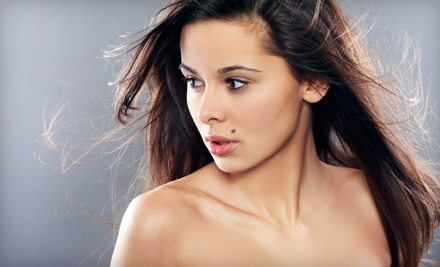 Haircut with Deep Conditioner, Glaze Treatment, or Highlights and Glaze Treatment at The Hair Spa (Up to 64% Off)