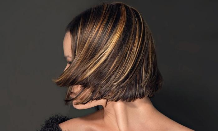 Mandarin Salon & Day Spa - Orange: Haircut, Deep-Conditioning Treatment, and Optional Highlights at Mandarin Salon & Day Spa (Up to 67% Off)