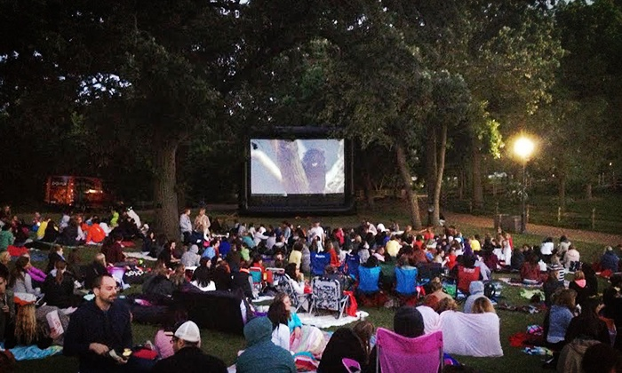 Lincoln Park Zoo - Chicago: Zoovies Movie Screening with Optional Parking at Lincoln Park Zoo (Up to 63% Off).