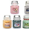 Yankee Candle 6 Medium Jars