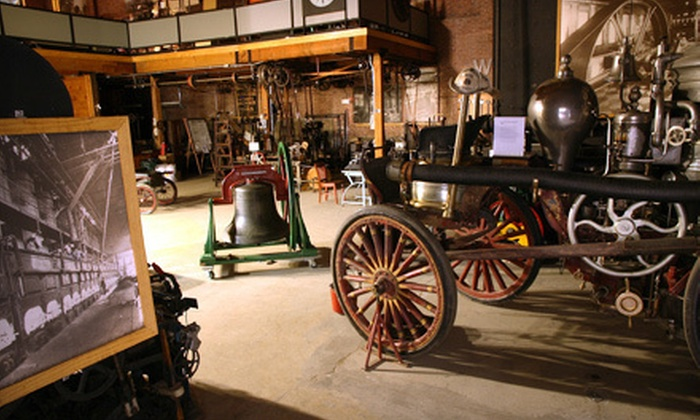 Charles River Museum of Industry & Innovation - Bleachery: Visit for Two or Four, or Membership for Up to Six at Charles River Museum of Industry & Innovation (Up to Half Off)