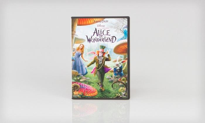 Alice in Wonderland on DVD: $7.99 for Alice in Wonderland on DVD ($19.99 List Price)