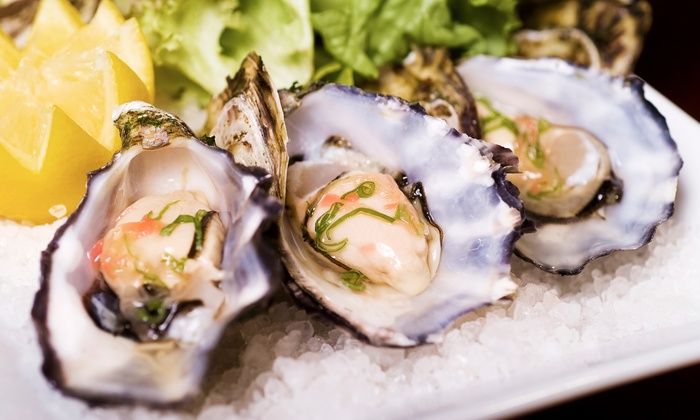 Young Barn Pub & Oyster Bar - Montgomery: Oysters and Dinner for Two or Four at Young Barn Pub & Oyster Bar (Up to 48% Off)