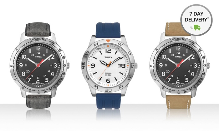 Men's Timex Weekender Watch: Men's Timex Weekender Watch. Multiple Styles Available. Free Shipping and Returns.