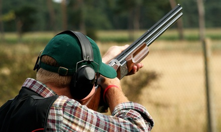 Clay-Target Shooting for up to Two or Four with Shotgun Rental and Clays at Deer Creek Hunt Club (Up to 55% Off)