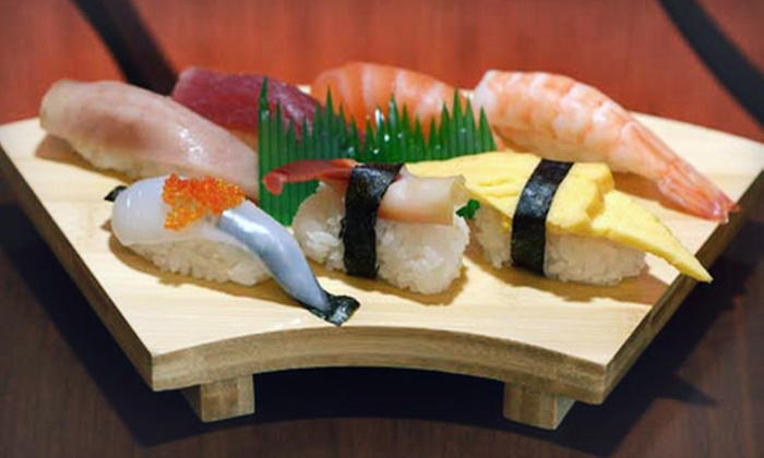 Maki Sushi - Multiple Locations: $29 for All-You-Can-Eat Teppanyaki for Two with Beverages at Maki Sushi (Up to $58.98 Value). Two Options Available.