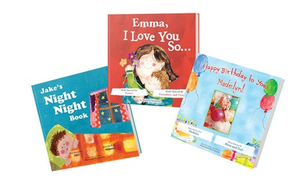 One, Three, or Five Personalized Kids' Books from Putmeinthestory.com (Up to 67% Off)
