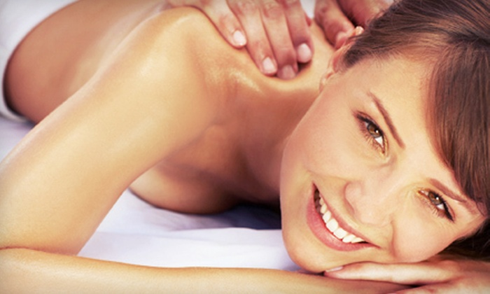 B.-Fit - Brookside: One or Three Swedish or Deep-Tissue Massages at B.-Fit (Up to 59% Off)
