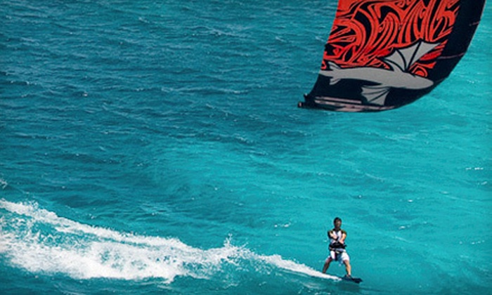 Miami Water Sports - North Shore: $49 for a One-Hour Group Kiteboarding Lesson from Miami Water Sports in Miami Beach ($99 Value)