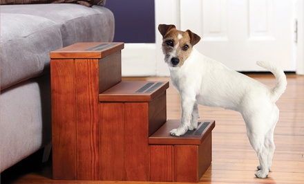 Wooden Pet Steps with Storage