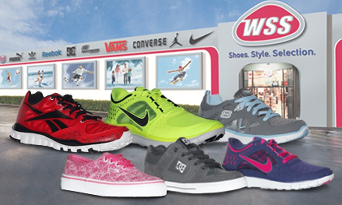 WSS Footwear - Multiple Locations: Shoes and Accessories at WSS Footwear (Up to 50% Off). Two Options Available.