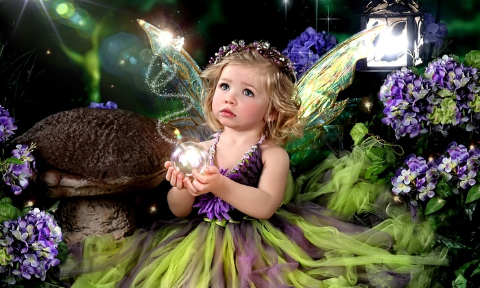Enchanted Fairytale Portraits • wimberley - Wimberley: $49 for Kids' Photo Shoot with Hairstyle, Makeup, Costumes, and Props at Enchanted Fairytale Portraits ($125 Value)